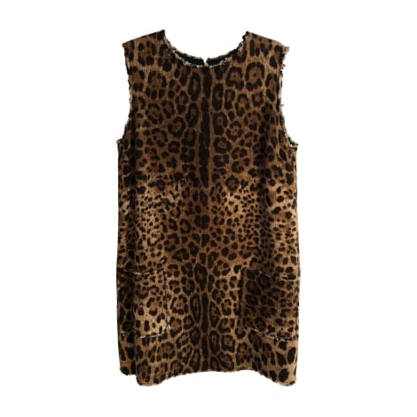 Robe courte DOLCE & GABBANA Imprimés animaliers