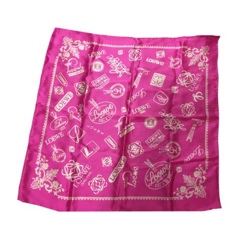 313b3995109616 Tuch, Schal LOEWE pink - 7816515