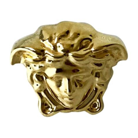 Bague VERSACE Doré, bronze, cuivre