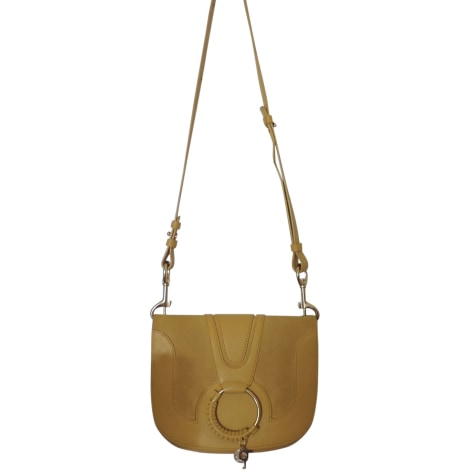 Leather Shoulder Bag SEE BY CHLOE Yellow