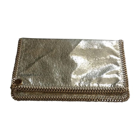 Non-Leather Clutch STELLA MCCARTNEY Golden, bronze, copper
