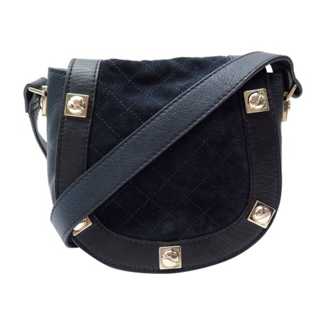 Leather Shoulder Bag SEE BY CHLOE Blue, navy, turquoise