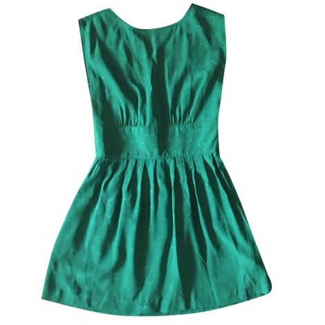 Midi Dress SESSUN Green