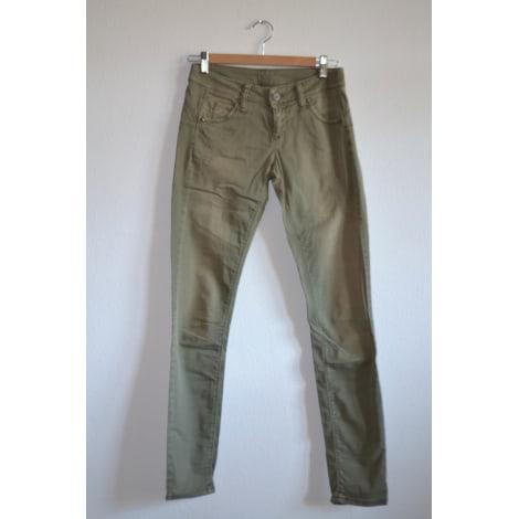 Pantalon slim, cigarette UNITED COLORS OF BENETTON Kaki