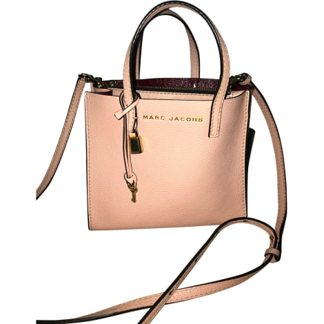 Leather Shoulder Bag MARC JACOBS Pink, fuchsia, light pink
