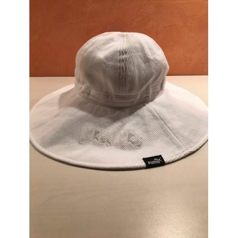 Chapeau PUMA Blanc, blanc cassé, écru