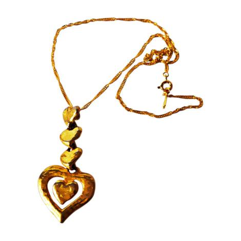 a61186f0a5e Pendant, Pendant Necklace YVES SAINT LAURENT golden - 7873610