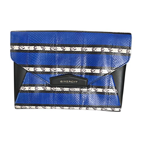 Leather Clutch GIVENCHY Black