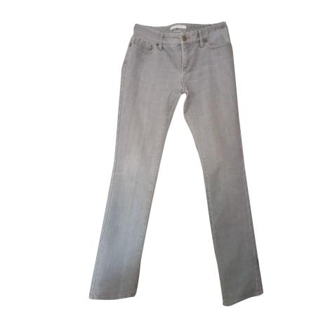Jeans droit GERARD DAREL Gris, anthracite