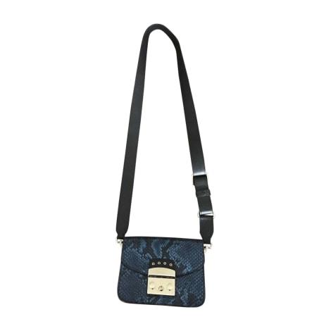 Lederhandtasche FURLA Blau, marineblau, türkisblau