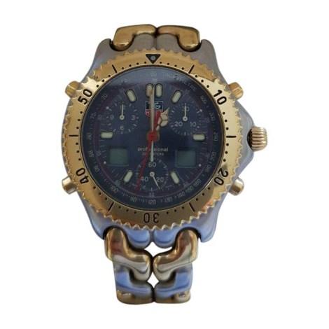 Montre au poignet TAG HEUER Doré, bronze, cuivre
