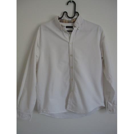 Chemise BURBERRY 13-14 ans blanc très bon état vendu par Cassy for you -  7914160 ec2a5003971d