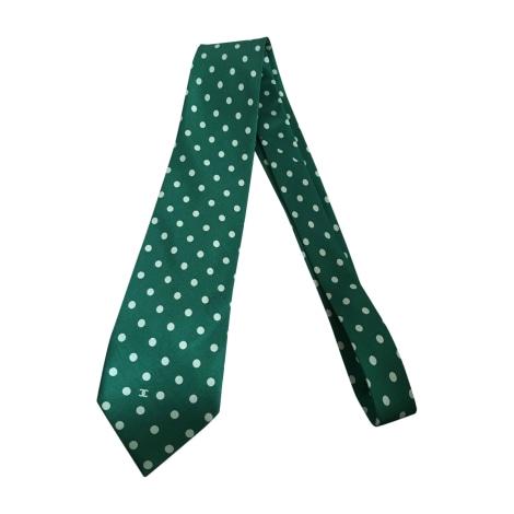 Cravate CHANEL Vert