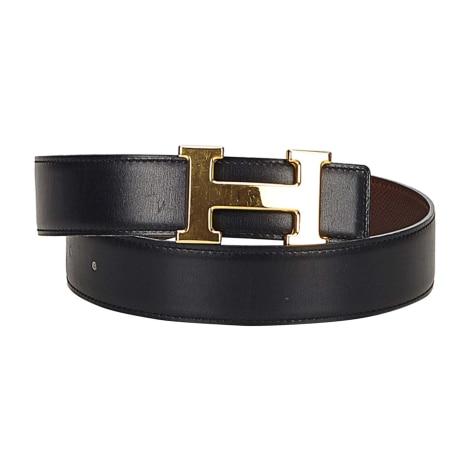 Wide Belt HERMÈS Black