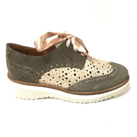 Chaussures à lacets  MINKA DESIGN Kaki