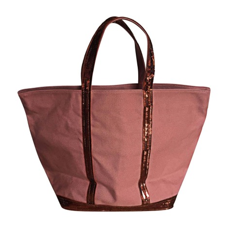 Non-Leather Handbag VANESSA BRUNO Pink, fuchsia, light pink