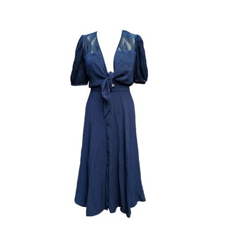 Maxi Dress SESSUN Blue, navy, turquoise