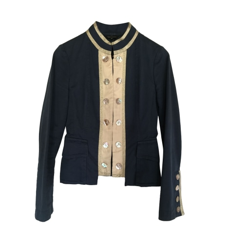 Jacket TARA JARMON Blue, navy, turquoise