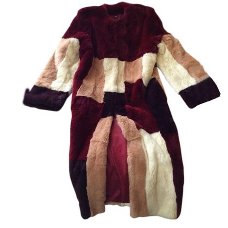 5227789fe3 Fur Coat CACHAREL 38 (M, T2) multicolor new sold by Caroline 3989 - 7945278