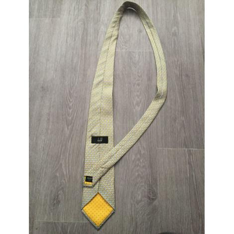 Cravate DUNHILL Jaune