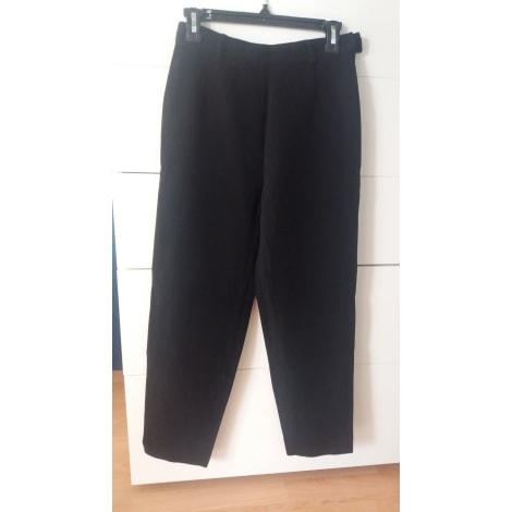 Pantalon carotte ZAPA Noir
