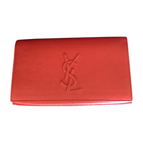 d0f7353c35 Pochette in pelle YVES SAINT LAURENT rosso nuovo stato venduto da YNIESTA 2  - 7974273