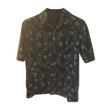 Short-sleeved Shirt LOUIS VUITTON Blue, navy, turquoise