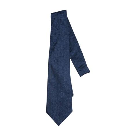 010f70f466683 Krawatte LOUIS VUITTON blau neu zustand verkauft durch livache - 8015953