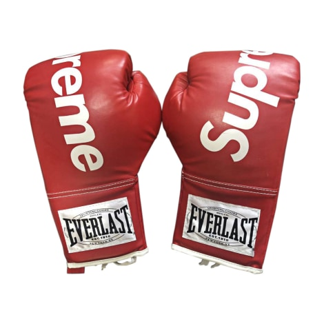 64752544 Gloves SUPREME One size red - 8046572
