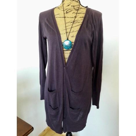 Gilet, cardigan SOFT GREY Violet, mauve, lavande