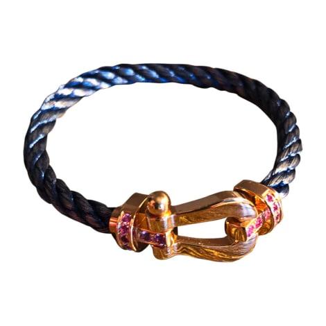 Bracelet FRED Doré, bronze, cuivre