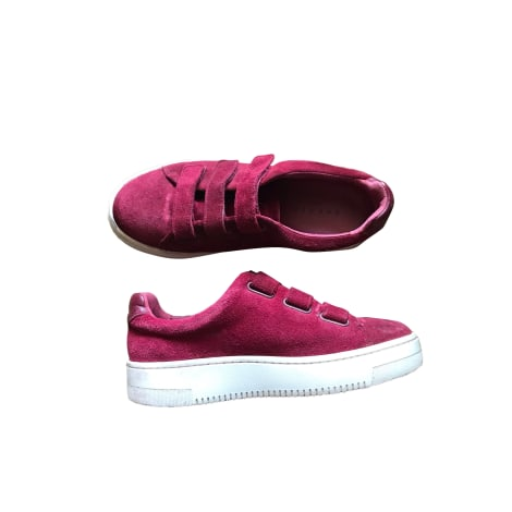 Sneakers SANDRO Red, burgundy