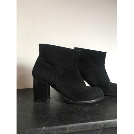 699760406b04 High Heel Ankle Boots ZARA 38 black - 8095717