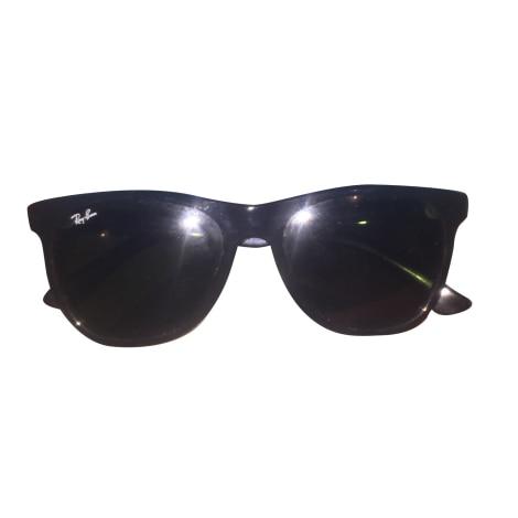 058624a51cd Occhiali da sole RAY-BAN nero ottimo stato venduto da Jolianne - 8099993