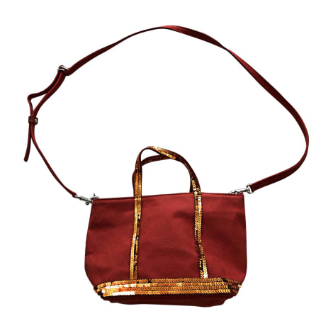 Non-Leather Shoulder Bag VANESSA BRUNO Red, burgundy