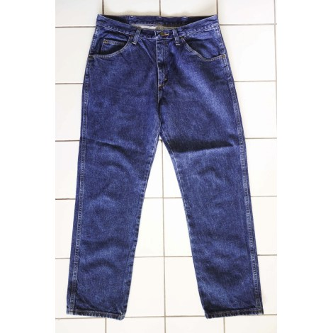 Jeans large WRANGLER Bleu, bleu marine, bleu turquoise