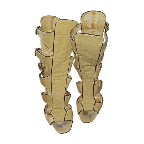 Escarpins à bouts ouverts PAUL & JOE Beige, camel
