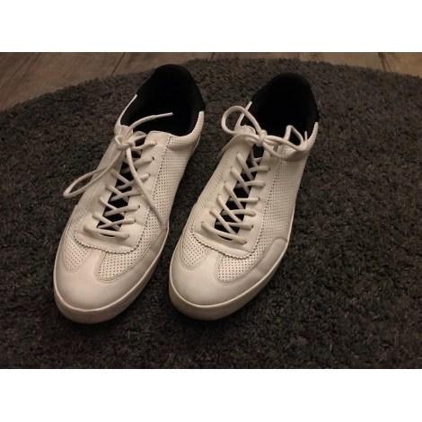 Baskets ZARA Blanc, blanc cassé, écru