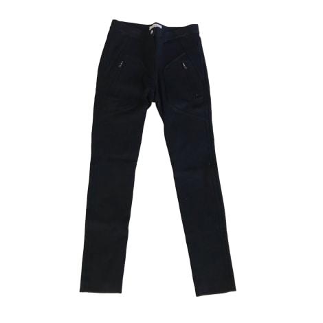 Pantalon slim, cigarette IRO Noir