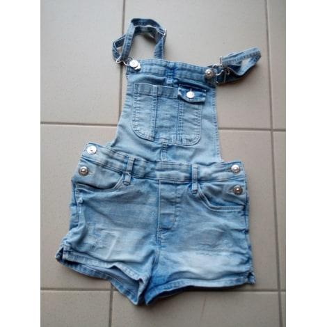 nuova versione all'ingrosso online foto ufficiali Salopette calzoncini H&M 7-8 anni blu - 8121599