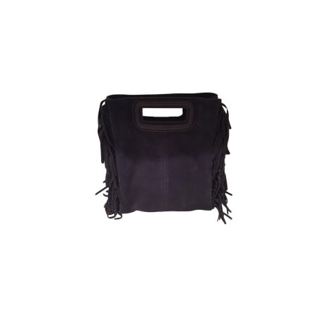 Leather Shoulder Bag MAJE Blue, navy, turquoise