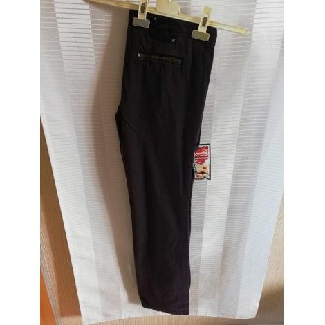 Pantalon droit DIESEL Violet, mauve, lavande