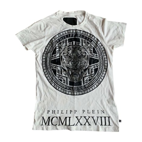 Tee-shirt PHILIPP PLEIN Blanc, blanc cassé, écru