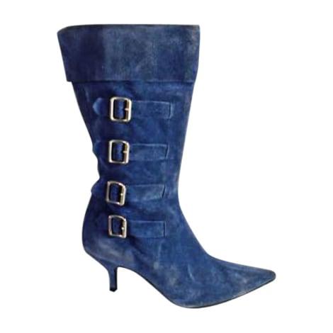 Bottes à talons MARC JACOBS Bleu, bleu marine, bleu turquoise