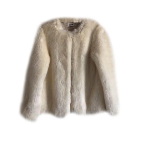 Blouson, veste en fourrure BEL AIR Blanc, blanc cassé, écru