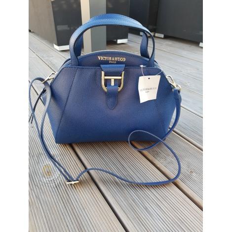 Leather Handbag Victor 8172891 Hugo Blue roWExeBQdC