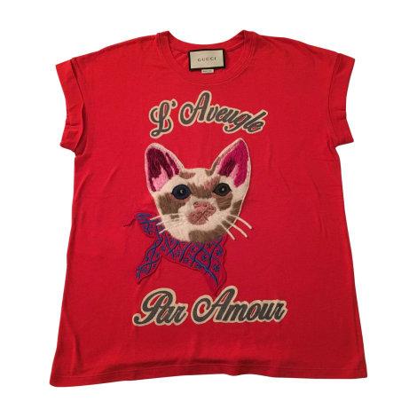 Tops, T-Shirt GUCCI Pink,  altrosa