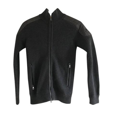 Vest, Cardigan MONCLER Gray, charcoal