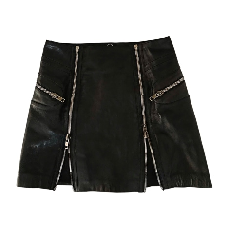 Mini Skirt ALEXANDER MCQUEEN Black