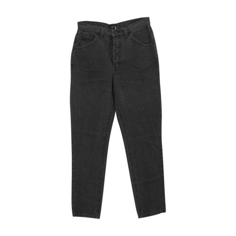 Straight Leg Jeans VALENTINO Gray, charcoal